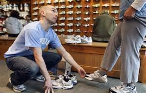 proper fit is key to a running shoe the boston globe