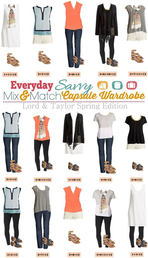 lord and summer capsule wardrobe