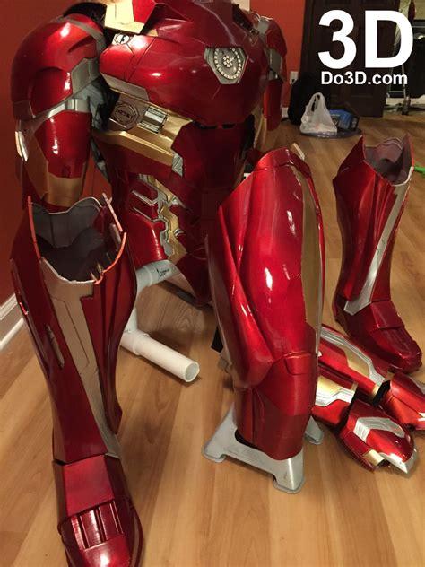 printable iron man armor 3d printable suit thanos and iron man mark xlvi fusion