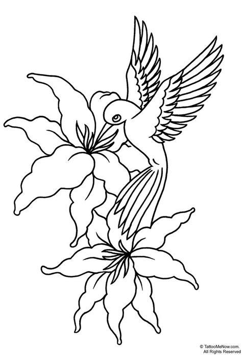 tattoo flower print 17 best images about hummingbird doodles on pinterest