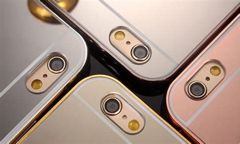 Mirror Bumper For Iphone 4 mirror bumper for iphones groupon goods