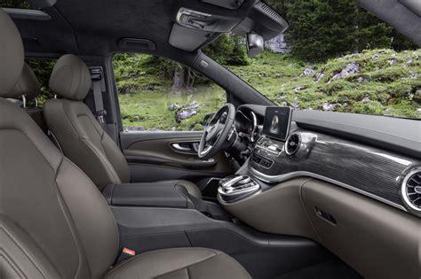 interni mercedes classe s mercedes classe v 2019 diesel moderno con il restyling