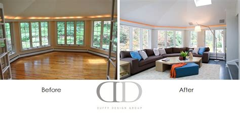 before after design before and after family room renovation in weston ma