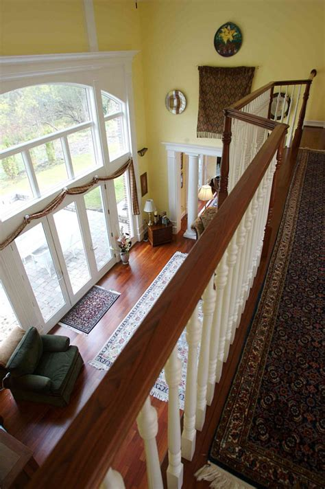second floor balcony interior stair and railing design ideas photos and