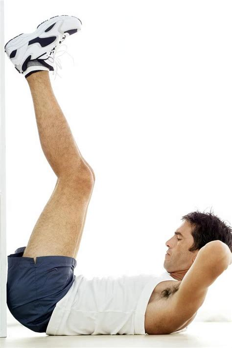 best crunches vertical leg crunches exercise www imgkid the