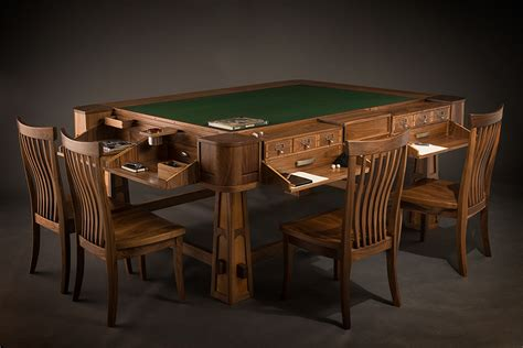 Gaming Table chic luxury board tables hiconsumption