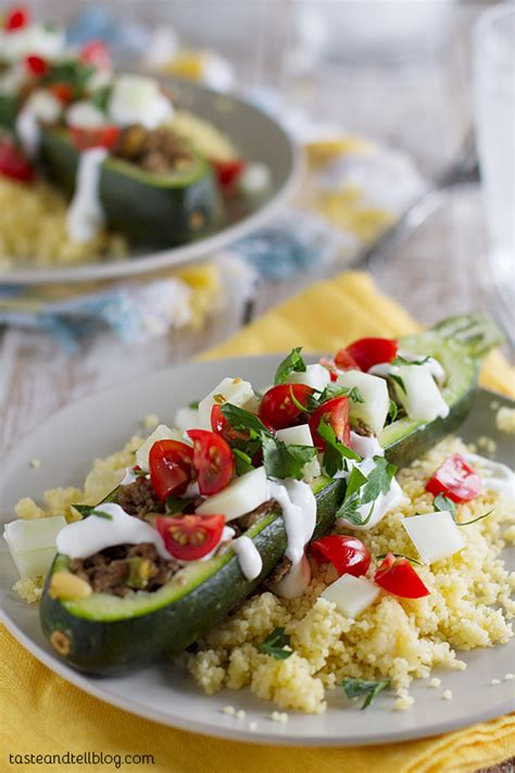 garden stuffed zucchini boats taste of home zucchini boats fridays with rachael ray taste and tell
