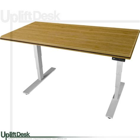 ergonomic sit stand desk shop uplift 900 standing desks with premium bamboo top