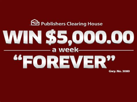 Pch 5000 A Week Forever 2015 - win 5000 a week forever last day blissxo com