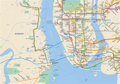 map of new jersey and new york new york new jersey subway map