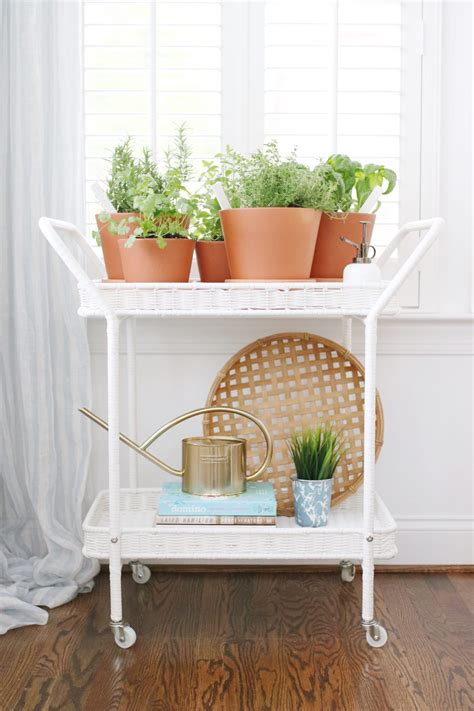 indoor herb garden cart lindsey regan thorne wardrobe