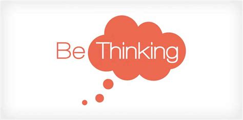 design thinking logo be thinking logo