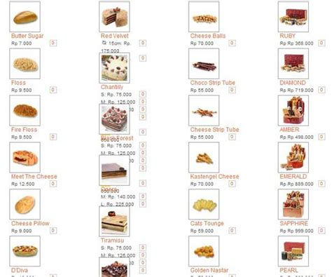 Daftar Menu Di Coffee Toffee Surabaya daftar harga cake breadtalk delivery november 2017