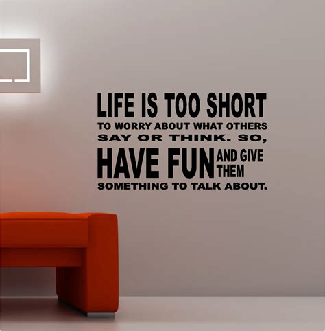 kitchen design quotes life is too short vinyl wall art quote lounge kitchen