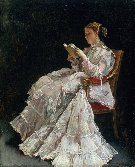 paint reader the reader by alfred emile stevens