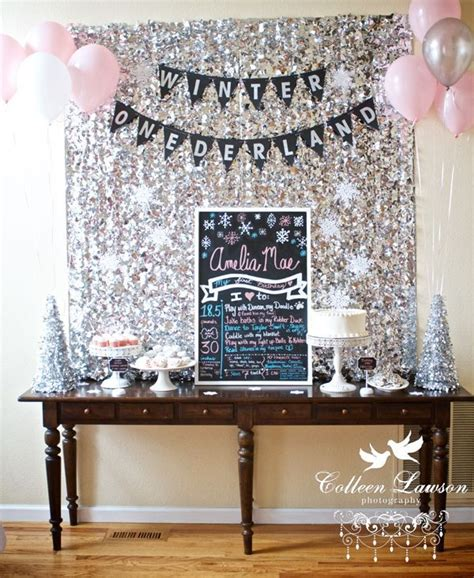 winter onederland birthday decorations reader style a winter onederland birthday