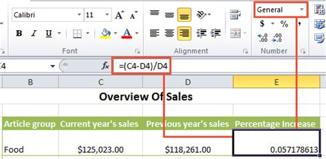format excel percentage excel percent how to formate numbers