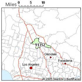 sun valley california map best place to live in sun valley zip 91352 california