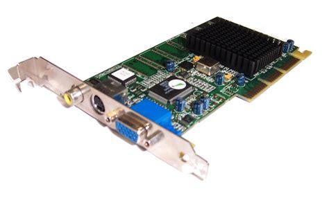 Vga Card Agp Ati 10278209000 R128p Ultra 32mb Vga S Comp Out Agp