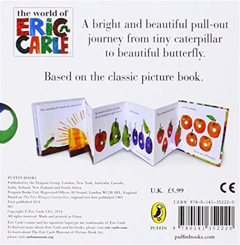 the very hungry caterpillar 0141352221 the very hungry caterpillar a pull out pop up libri illustrati panorama auto