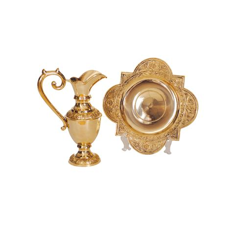 lavabo set lavabo set goldplated churchsupplies