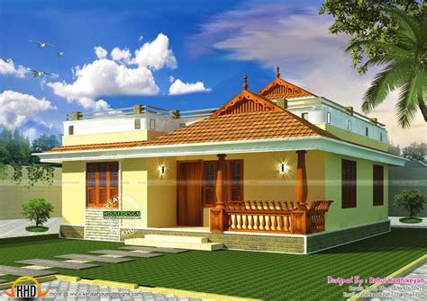 sweet house small kerala style home my sweet home pinterest