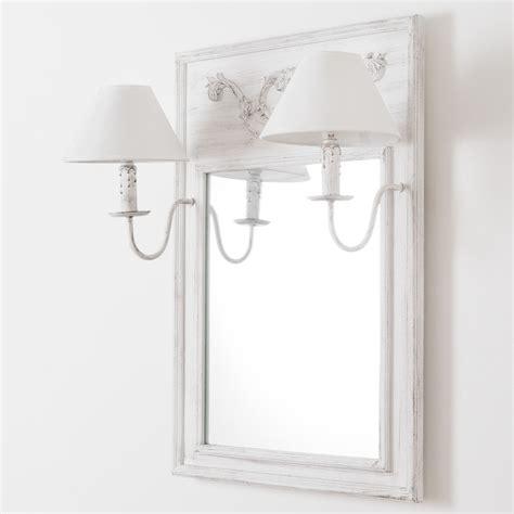 Charmant Deco Murale Chambre Fille #6: miroir-applique-double-en-bois-et-toile-effet-vieilli-h-70-cm-ambroise-1000-13-26-130488_9.jpg