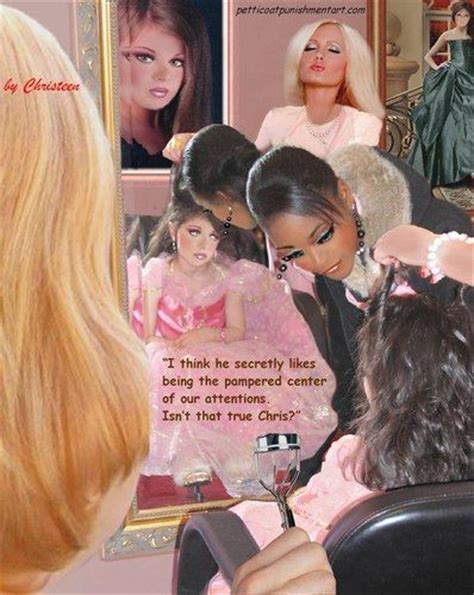 forced feminization beauty salon art christeen foto 31 christeen punishment art pinterest