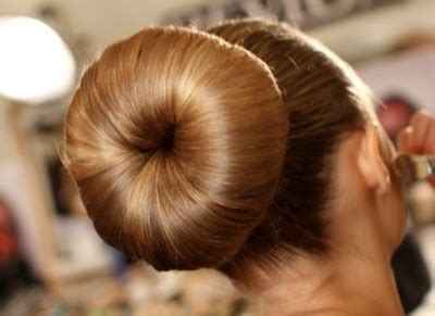 how to do a bun at the base of the neck how to make a hunny bun sock bun melishowto