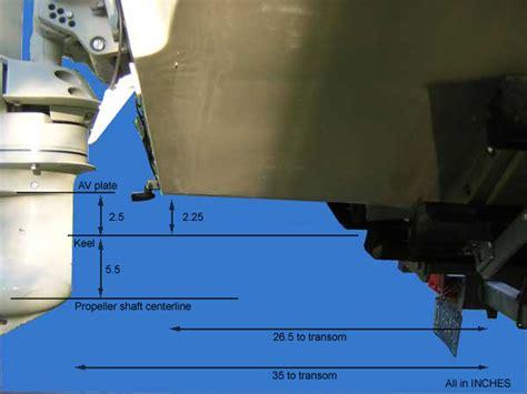 cavitatieplaat buitenboordmotor propeller for high engine mount height moderated