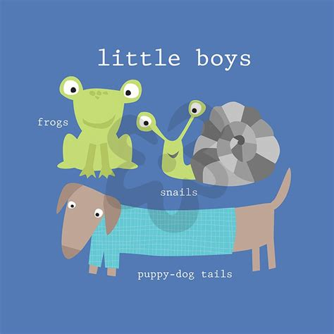 snails and puppy tails frogs snails and puppy tails canvas wall by oopsy