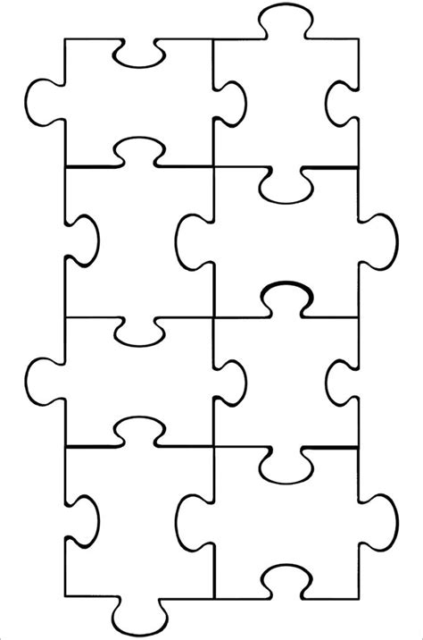 Puzzle Piece Template 19 Free Psd Png Pdf Formats Jigsaw Puzzle Design Template