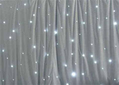 light curtain backdrop pure white 3 4m led backdrop light star cloth curtain in