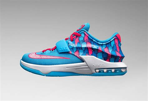 nike kd 7 gs frozens sneaker bar detroit
