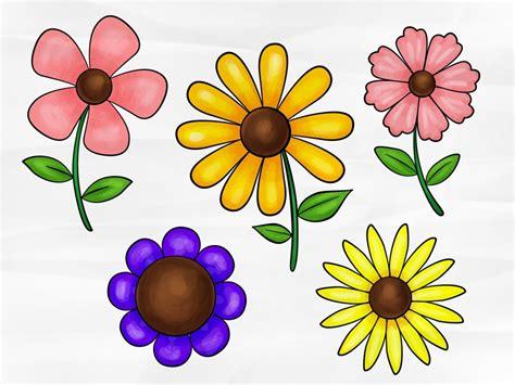 Basic Flower Drawing