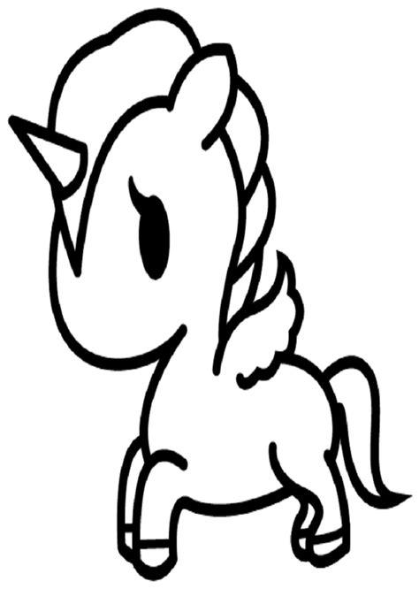 imagenes kawaii para colorear de unicornios unicornio para colorear www pixshark com images