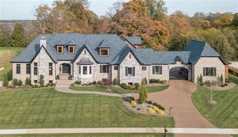 newly built brick home in kentucky