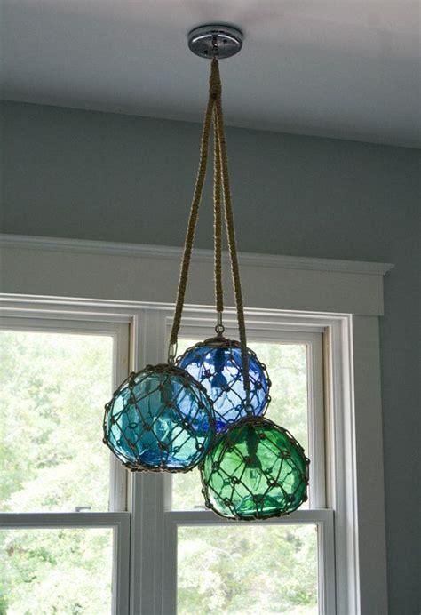 glass fishing float pendant light best 25 cluster pendant light ideas on