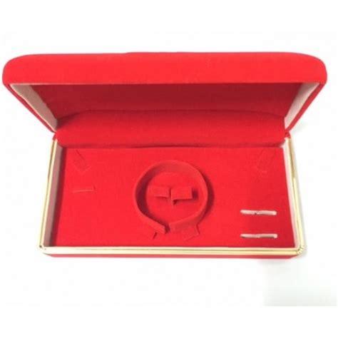 Tempat Perhiasan Kotak kotak tempat perhiasan merah list gold grosir barang