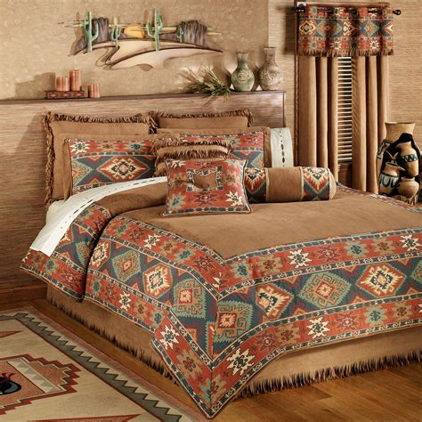 southwest comforter sets canyon ridge comforter bedding
