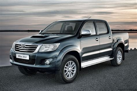 new toyota truck 2012 toyota hilux pickup truck with new look carguideblog