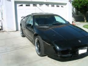Pontiac Fiero Top Speed 1987 Pontiac Fiero V6 With 5 Speed Manual Getrag