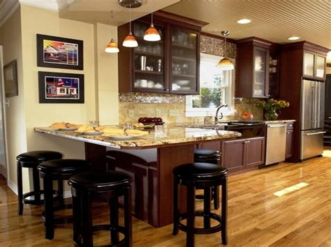 kitchens with bars and islands kitchen small kitchen island with breakfast bar kitchen