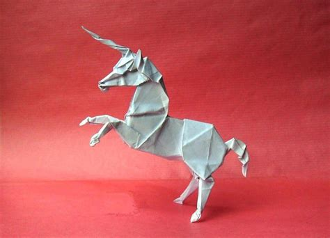 origami unicorn 3 by orestigami on deviantart