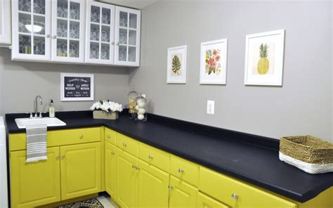 Painting Laminate Kitchen Cabinets Before And After by Painting Laminate Cabinets Before And After Home