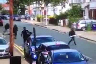 Ts Jihad Hatred muslim mobs armed with machetes and bats terrorize