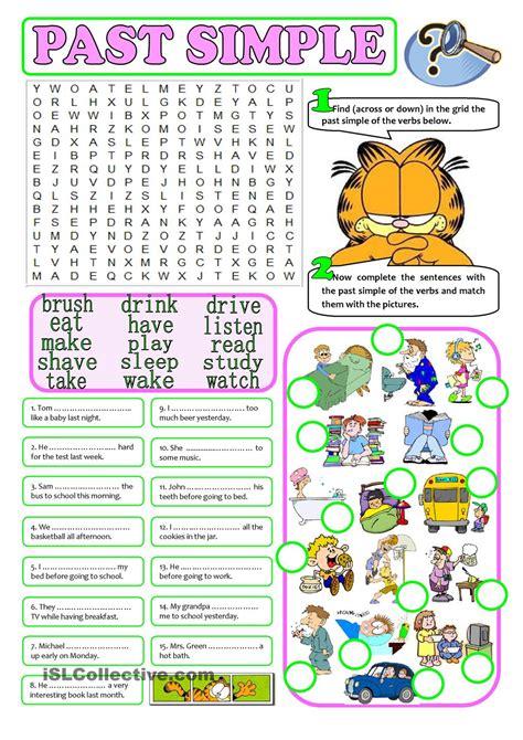 past simple regular irregular verbs teaching verbs