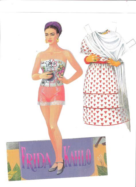 frida kahlo paper dolls 1452108250 frida kahlo paper dolls by francisco estebanez http www com halinakaminski dolls 4