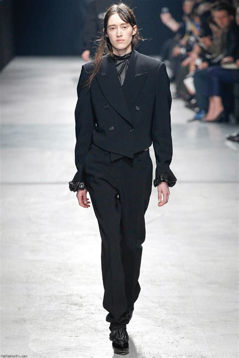 Mannish Chic At Fashion Week by Christopher Fall Winter 2014 Collection