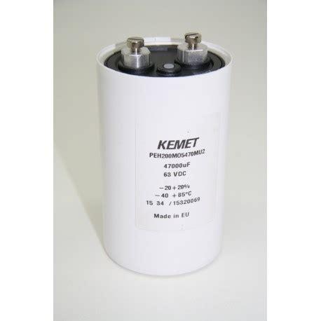 Elco 220200v Nipon Cemicon elco s laagspanning elektrodump